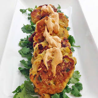 Citrus Plantain Fritters.