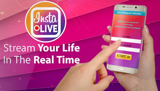 Video Live on Insta Activator screenshot