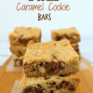 Twix Caramel & Chocolate Cookie Bars