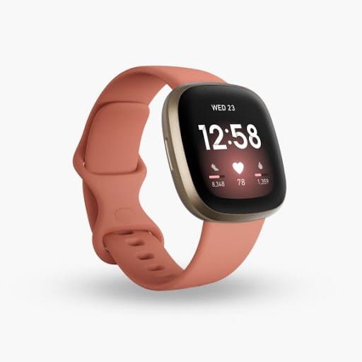Versa 3 in Pink Clay with Soft Gold Aluminium