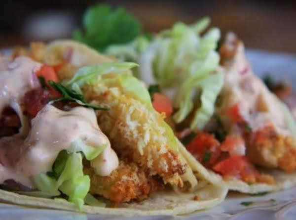 Light And Crispy Fish Tacos Recipe