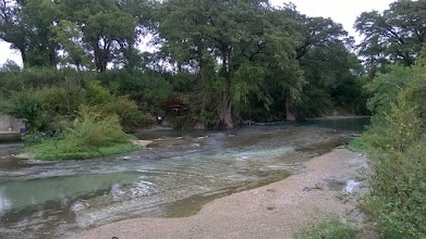 Photo: Blanco River crossing, in vicinity of Camino Real 10/11/14