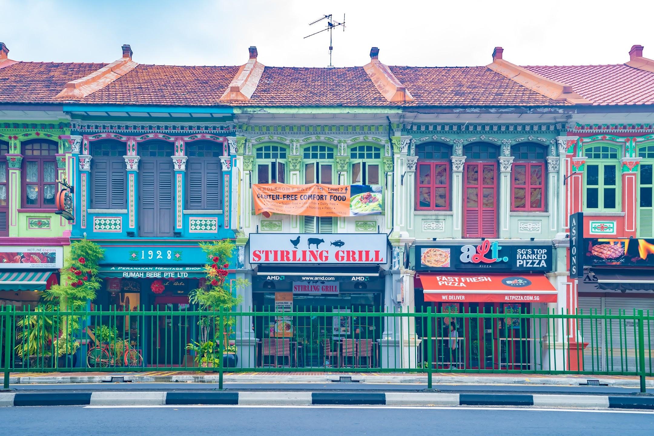 シンガポール カトン2