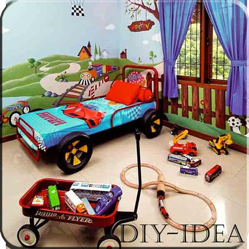 儿童卧室设计 生活 LOGO-玩APPs