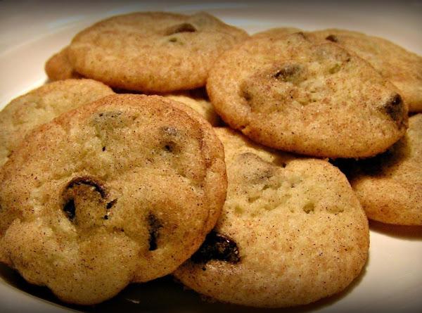 Ghiradelli Chocolate Chip Snickerdoodles! Recipe
