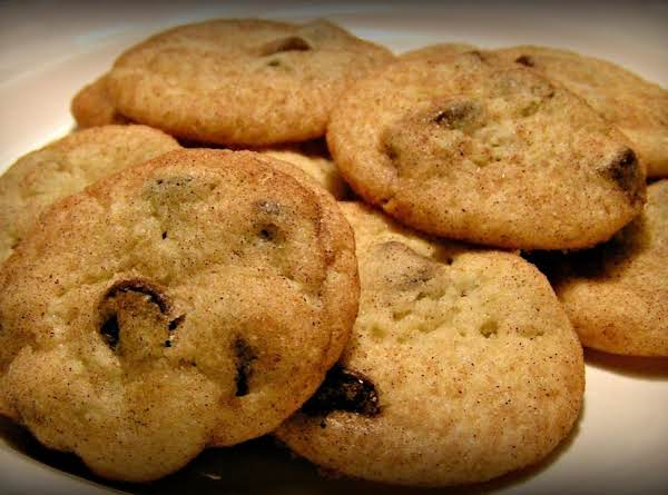 Ghiradelli Chocolate Chip Snickerdoodles! Recipe