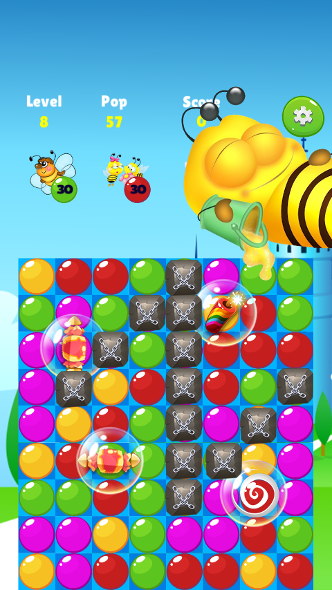 Bee Of King - Bubble Pop And Blast Mania- screenshot