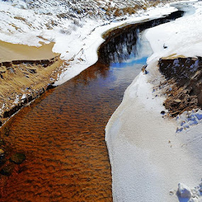 Stream by Karen Carnahan - Landscapes Waterscapes