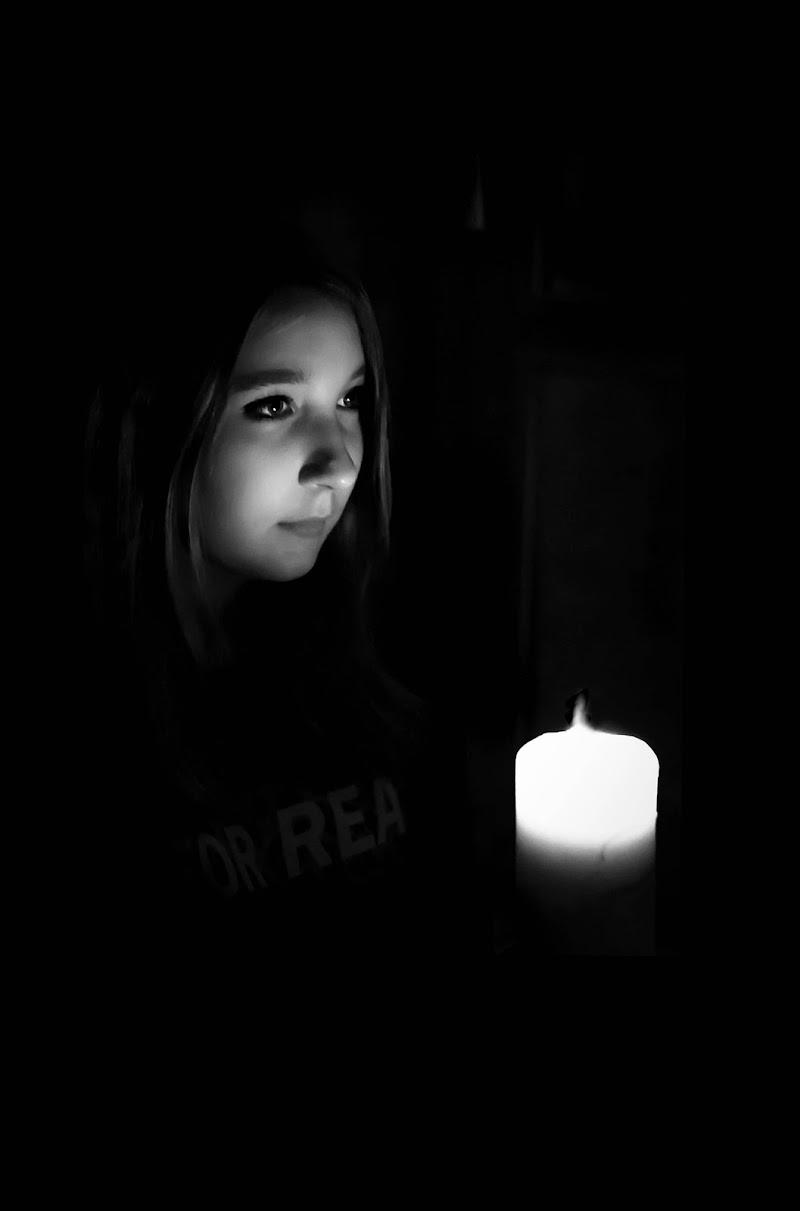 A lume di candela di Olea