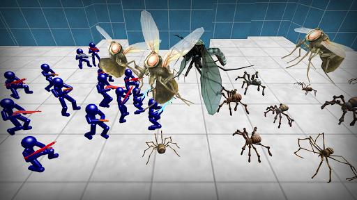 Stickman Spiders Battle Simulator 1.01 screenshots 3