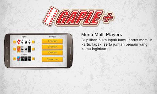 Gaple + ( Online Indonesia ) for PC