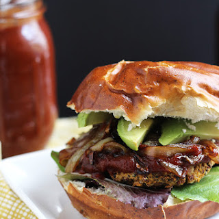 Vegan BBQ Veggie Burger