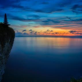 Cliffs of Bali by Trevor Murphy - Landscapes Sunsets & Sunrises ( tmurphyphotography )