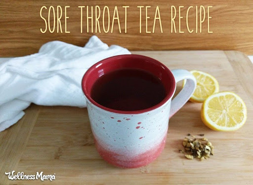 Marshmallow Licorice Sore Throat Tea Recipe