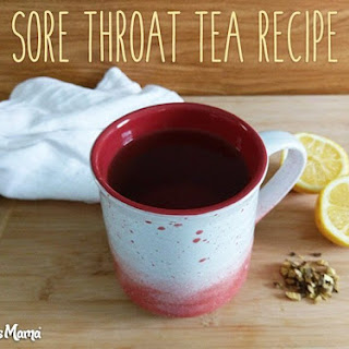 Marshmallow Licorice Sore Throat Tea Recipe.