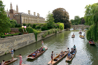 Photo: Punting on the River Cam