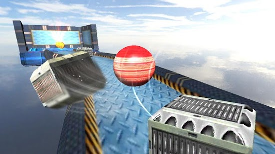 Red Ball Balance 3D screenshot