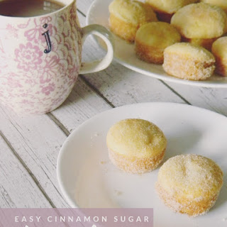 Easy Cinnamon Sugar Doughnut Holes