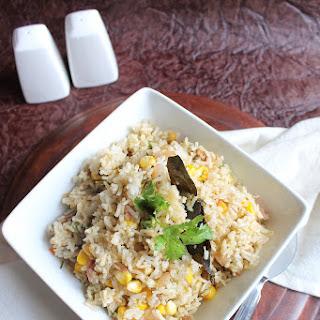 Sweet-Corn And Peas Pulao