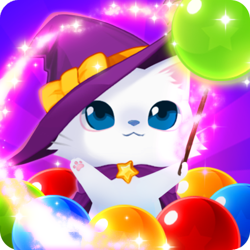 Bubble Cat Worlds Cute Pop Shooter (game)