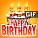 Happy Birthday GIF Images - Androidアプリ