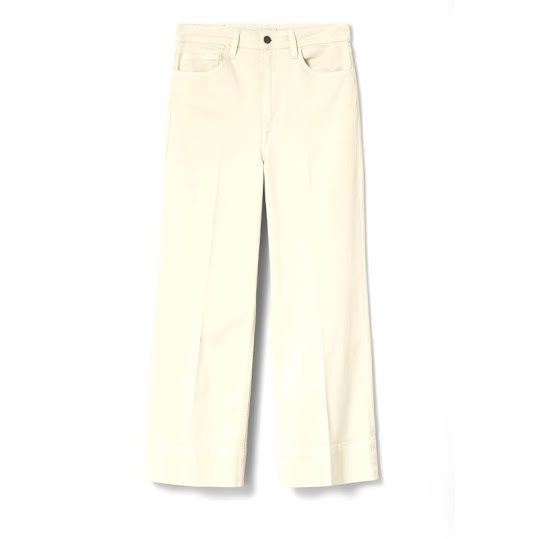 DOBBER Sally Cropped Trousers Beige Stl, 42
