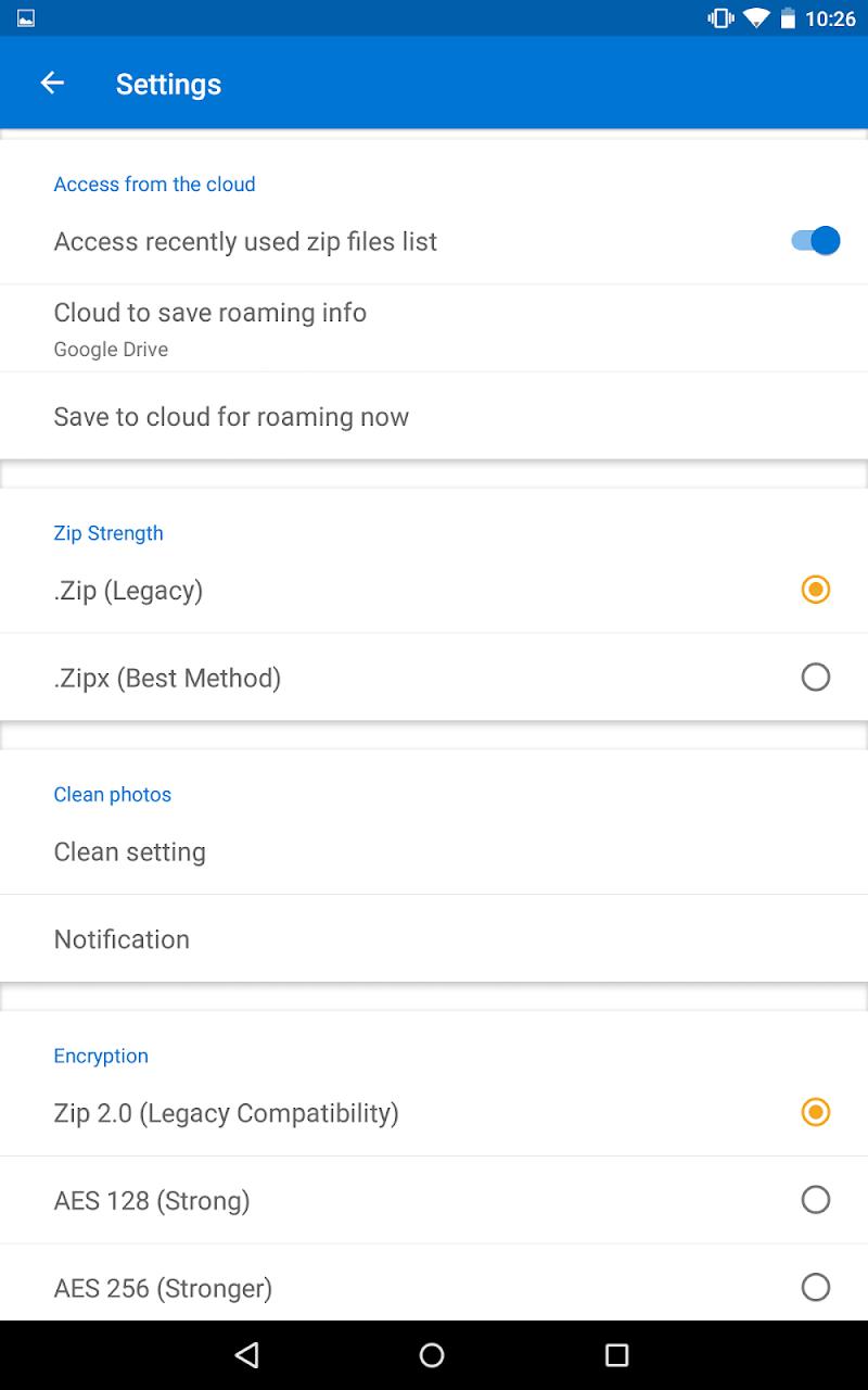 WinZip – Zip UnZip Tool Screenshot 10