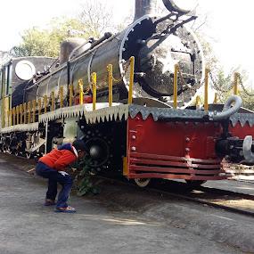 Very old Indian Steam Locomotives by Basant Malviya - Transportation Trains ( train     locomotive     seam engine,  )