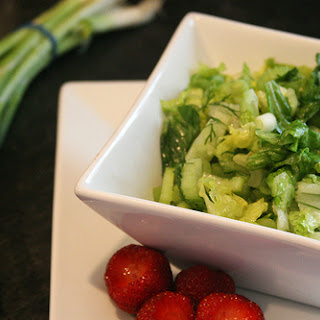 Simple Green Salad with Dill.