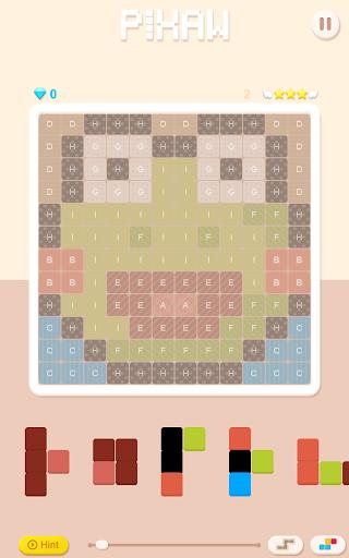 Jigsaw puzzle with pixel art : Pixaw apkdebit screenshots 8