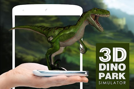 3D Dinosaurier Park Simulator Screenshot