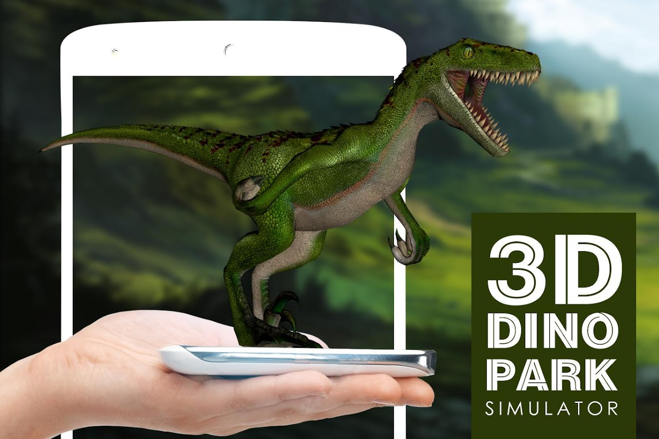 3D Dinosaur park simulator- screenshot