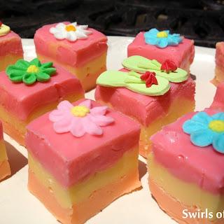 Welcome Summer! Tutti Frutti Fudge.