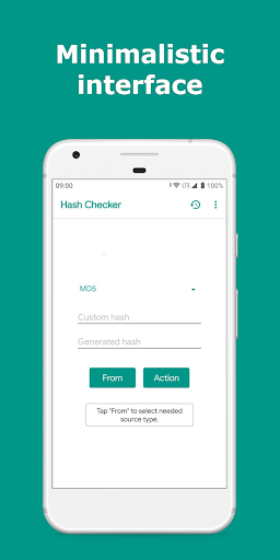 Hash Checker: MD5 and SHA-1/224/256/384/512 2.9.2 screenshots 1