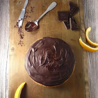Jaffa Cake Sponge (Chocolate Orange Cake).