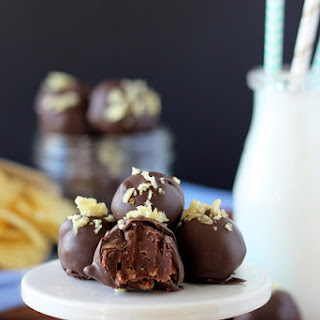 Bacon Potato Chip Truffles