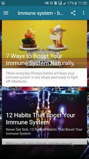 immune system - boosting foods - náhled