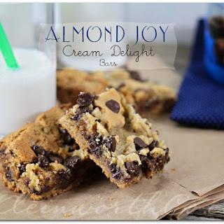 Almond Joy Cream Delight Bars from Kleinworth & Co.