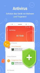 Clean Master - Antivirus, AppLock + Bereiniger Screenshot