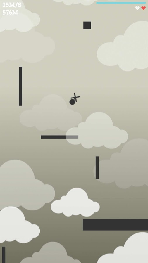 Incredible Fall: Tilt to Move- screenshot