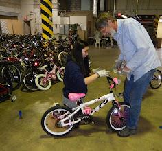 Photo: Bike donation for Kentucky