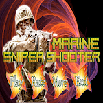 Marine Sniper Shooter Icon