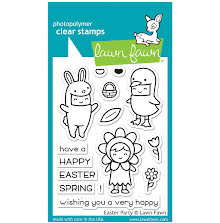 Lawn Fawn Clear Stamps 3X4 - Easter Party