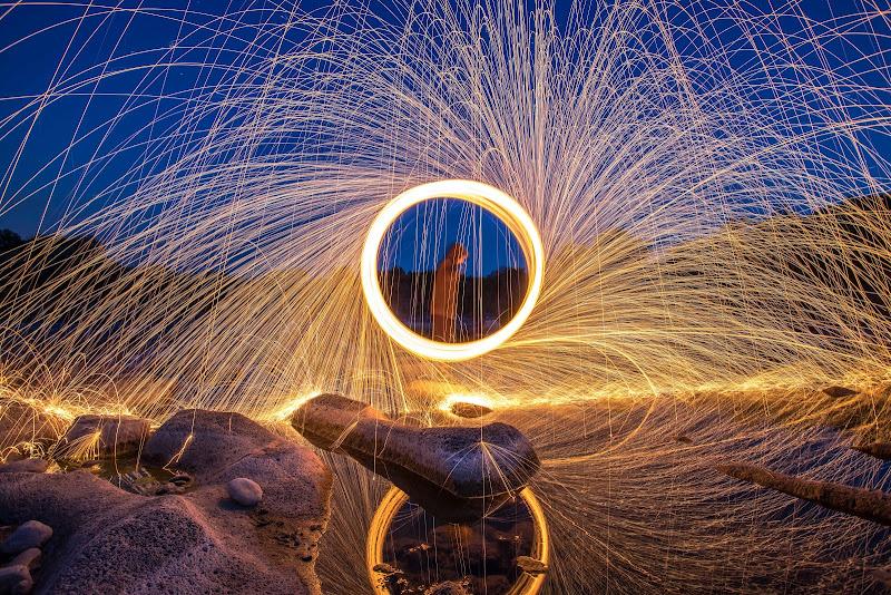 Cerchi di luce di Massimiliano Trovato Photographer