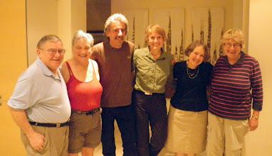 Photo: Bill, Karel, Frank (our driver), Melba, Tere, Mavis