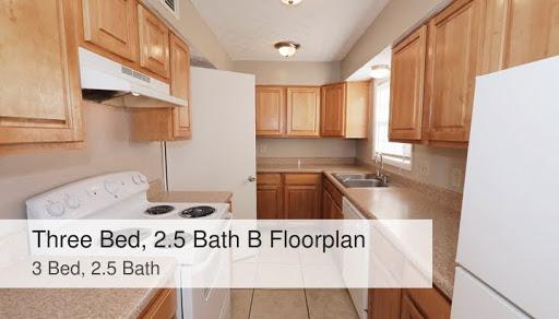 Three Bed 2 5 Bath B Floorplan 3 Bed 2 5 Bath Ashford Oaks