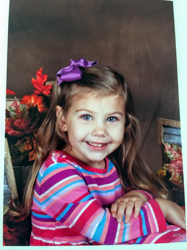 When we got home, we received this awesome school pic of our grand daughter! See you soon Peyton!!