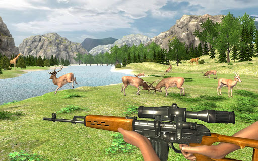 Real Jungle Animals Hunting - Best Shooting Game apkpoly screenshots 2