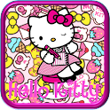 How to draw Hello kitty icon