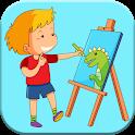 آموزش قدم به قدم نقاشی icon